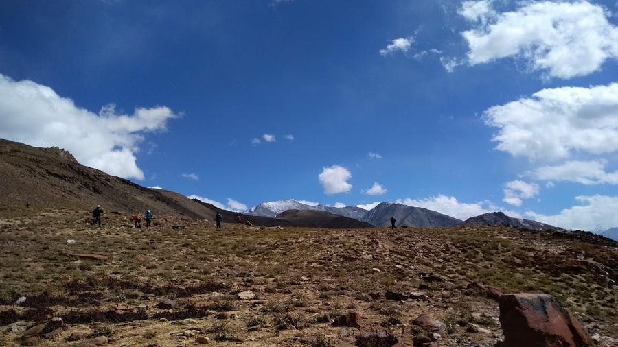 Kunzum la Chandratal trail