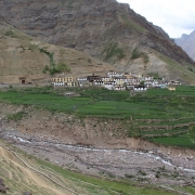Trek to Mud (3600m) 5 hrs, drive to Kaza (3600m)
