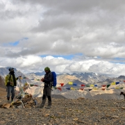 Trek to high camp over Pandang or Penak La (5175m)