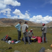 Trek to Berga Songchak (4400m) 6 hrs.