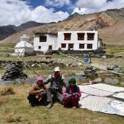 Trek to Tangze (4000m) or Testa, 5-6 hrs