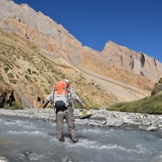 Trek to Yarumchan (4430m).