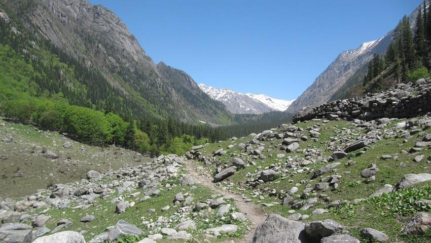 Bhabha Pass and Kanamo peak