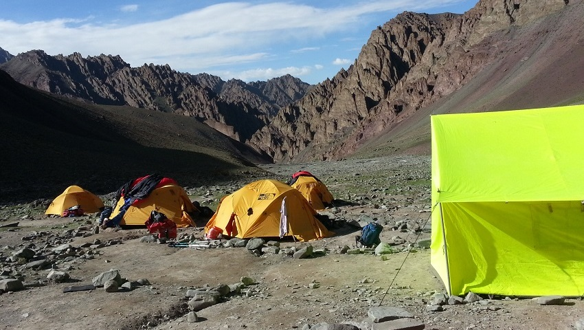 Stok Kangri Ascent 6153m