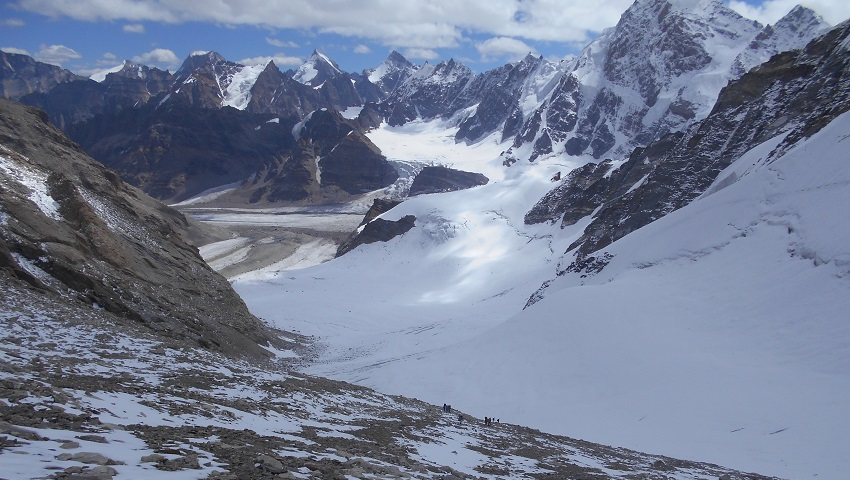 Miyar valley and Kang La