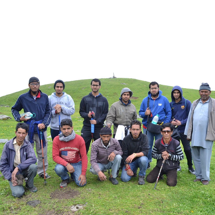 Mr Adeeb - Bhrigu Lake - Trekking in Manali