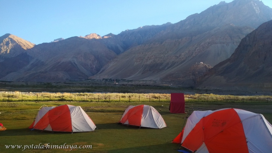 Pishu campsite