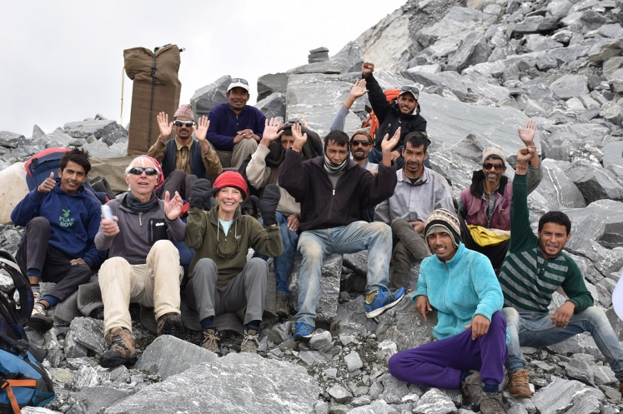 Group at Mayali Pass