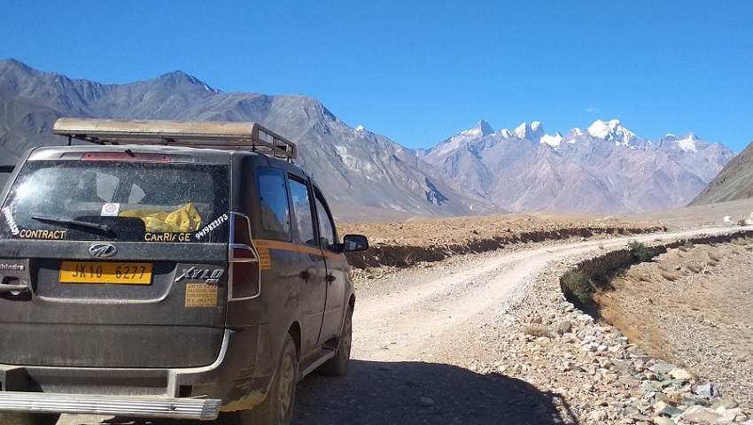 Manali - Padum Zanskar - Kargil - Leh - The New Road - Shinkun la 5090m